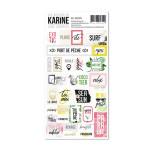 Issements - embellissements stickers