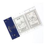 Tampons transparents timbre Les secrets du Petit Prince : Le ciel