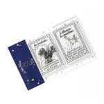 Tampons transparents timbre Les secrets du Petit Prince : Baobabs et réverbères