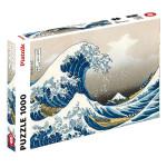 Puzzle 1000 pièces Hokusai La vague