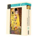 Puzzle en bois 150 pièces Klimt Le baiser