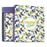 Kit de papeterie Creative Vibes tigre bleu