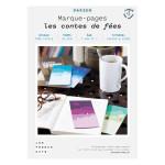 Kit papier Marque-pages les contes de fées