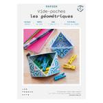 Kit papier Vide-poches les géométriques