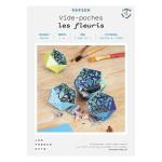 Kit papier Vide-poches les fleuris