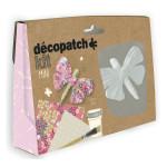 Kit objet en papier mâché papillon à personnaliser
