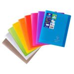 Cahier Coverbook protège-cahier intégré 17 x 22 cm Seyès 48 p