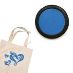 Izink textile - Tampon encreur - Bleu clair sky
