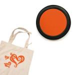 Izink textile - Tampon encreur - Orange