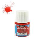 Peinture textile Setacolor effet daim 45 ml - 303 - Rouge