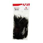 Plume duvetée 10-15cm sachet de 15 - Noir