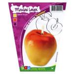 Moule à bougie en latex Pomme 8 cm