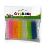 Pâte à modeler Oyumaru assortiment n°1 set de 12 - Assortiment