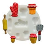 Moule en silicone  thème cuisine