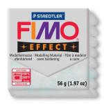 Pâte polymère Fimo Effect 56g - 812 - Argent pailleté