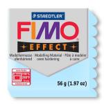 Pâte polymère Fimo Double Effect 56g - 306 - Bleu glacier quartz