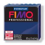 Pâte polymère Fimo Pro 85 g - 34 - Bleu marine