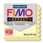 Pâte polymère Fimo Effect 56g - 105 - Jaune pastel