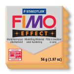 Pâte polymère Fimo Effect 56g - Abricot