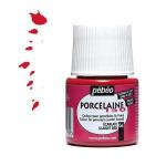 Peinture Porcelaine 150 45 ml - 06 - Ecarlate
