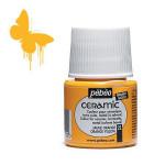 Peinture Céramic 45 ml - 22 - Jaune orange