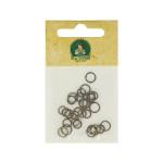 Anneaux brisés ronds 5-6-7mm bronze