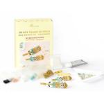 Kit de tissage de perles Miyuki - les broches plumes