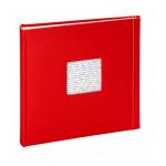 Album photo traditionnel - 60 pages 30 x 30  cm - Modèle Linéa Rouge