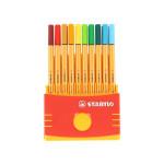 Feutre calibré 0,4 mm Point 88 Colorparade par 20