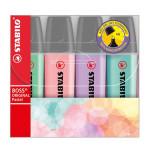 Surligneur BOSS pastel - 4 couleurs
