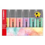 Surligneur BOSS pastel - 6 couleurs