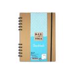 Carnet Sketchbook Papier blanc 128 g/m² 80 pages à la française