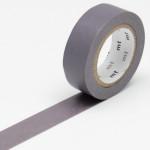 Masking tape uni gris violacé