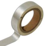 Masking Tape uni argent 1 cm x 5 m