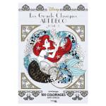 Art thérapie Disney Les Grands Classiques Art Déco Tome 2