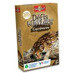 Jeu de cartes Défis nature Carnivores