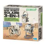 Mini Robot Solaire 3-en-1