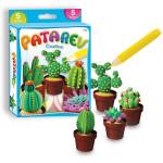 Pâte à modeler autodurcissante set Cactus
