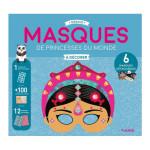 Masques à décorer Princesses du monde