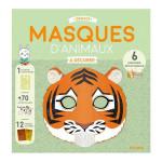 Masques à décorer Animaux