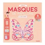 Masques à décorer Papillons à décorer