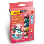 Kit découverte peinture Glitter 6 tubes 20 ml
