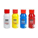 Peinture pour enfant Acrylcolor set 4 couleurs 150 ml