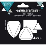 Die Set Pyramides - 4 pcs