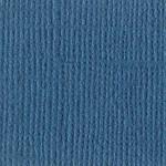 Papier Bazzill Toile 30,5 x 30,5 cm - 216 g/m² - Bleu Mysterio
