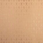 Papier Or Kraft et Filaire 30,5 x 30,5 cm