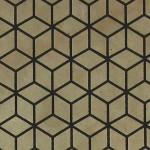 Papier Lokta Imprimé 50 x 75 cm Lin motif Bain-douches gris