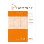 Bloc de papier millimétré 80 g/m² 25 feuilles - 21 x 29,7 cm (A4)