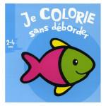 Album de coloriage Je colorie sans déborder Poisson