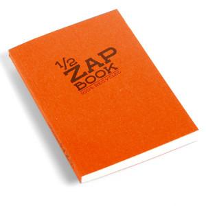 Bloc papier 1/2 Zap Book encollé - 14,8 x 21 cm (A5)